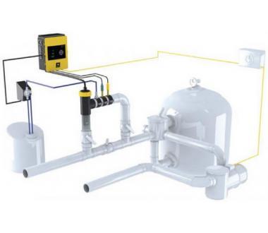 hidrolife salz elektrolyse system f r pools bis zu 65m. Black Bedroom Furniture Sets. Home Design Ideas