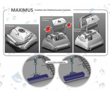 poolroboter maximus classic maximus cl. Black Bedroom Furniture Sets. Home Design Ideas