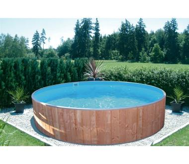 rundbecken fun wood 450x90cm ih0 6mm blau. Black Bedroom Furniture Sets. Home Design Ideas