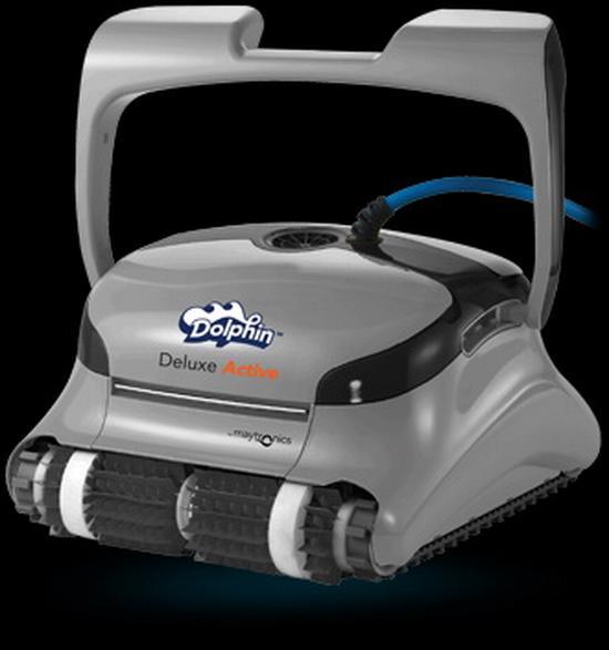 Dolphin Deluxe Active Cleaner mit Combi-Bürsten