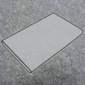 Randstein (runde Kante) 500 x 300 – 370 x 40 mm Luserna