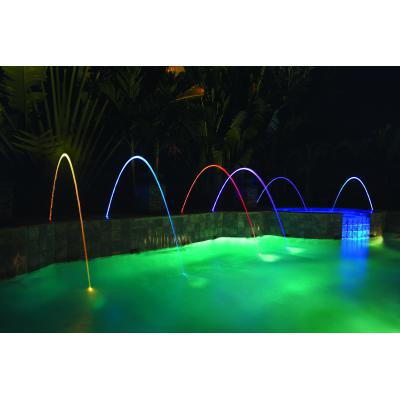 MagicStream Wasserbogen mit LED-Illumination
