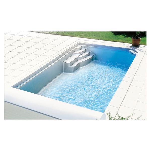 Hobby Pool Fertigschwimmbecken Marina 600 Weiss Poolparadies De